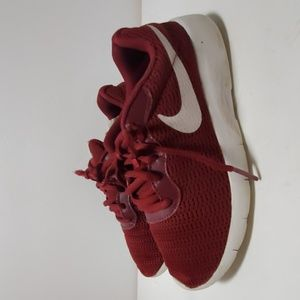 Burgundy Nike shoes